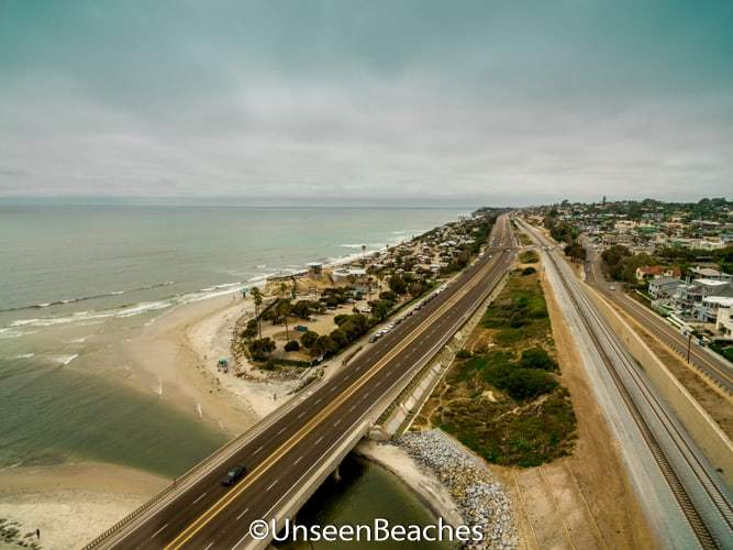 Cardiff-by-the-Sea beach in California: A Gem in San Diego County