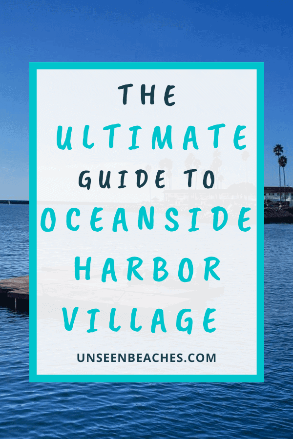 Oceanside Harbor Village-Pin