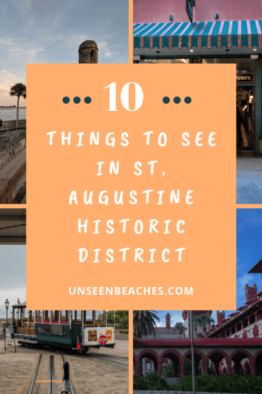 St. Augustine Historic District Pin-2
